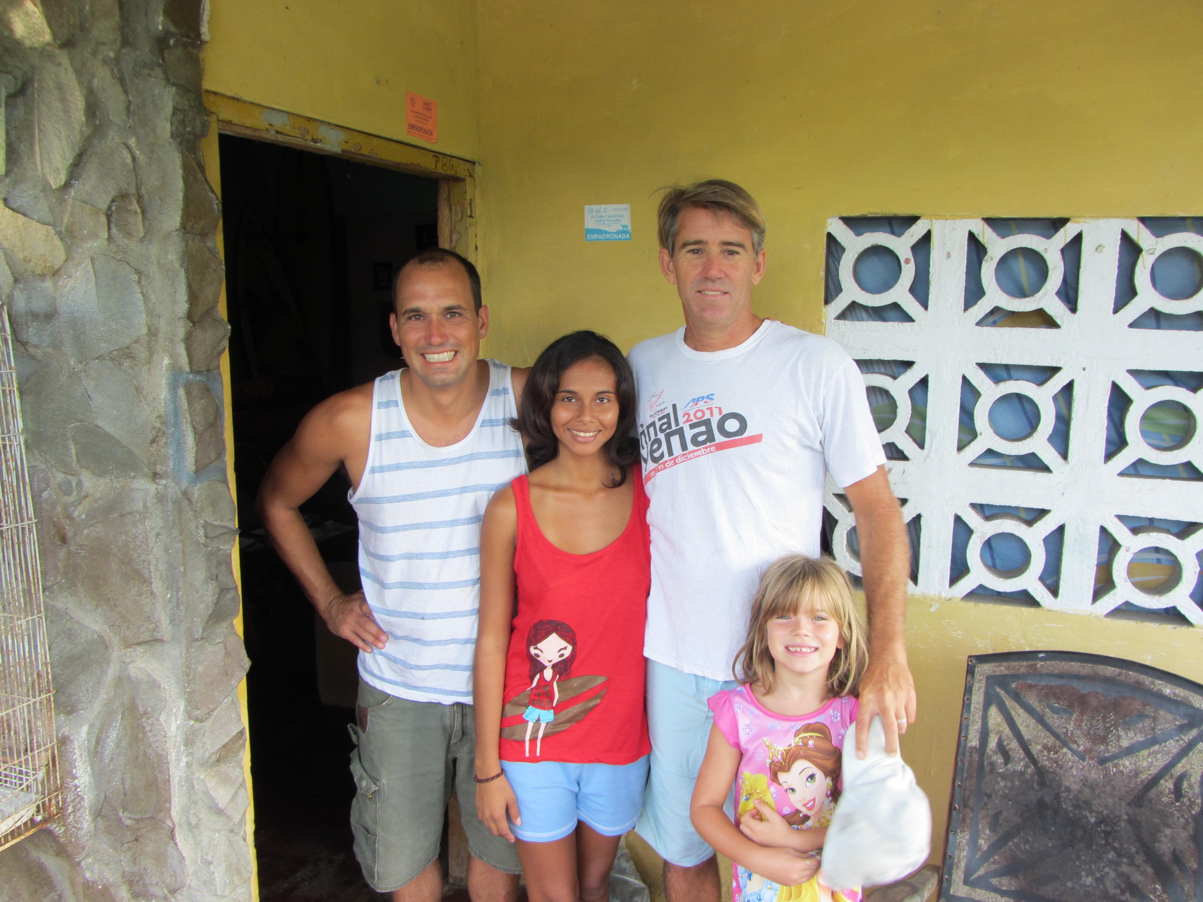 September   2012   Surfing the three Americas